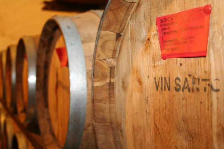 botti di vin santo in toscana