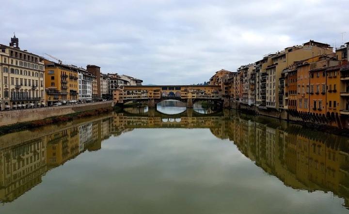 Veduta di Ponte Vecchio a Firenze