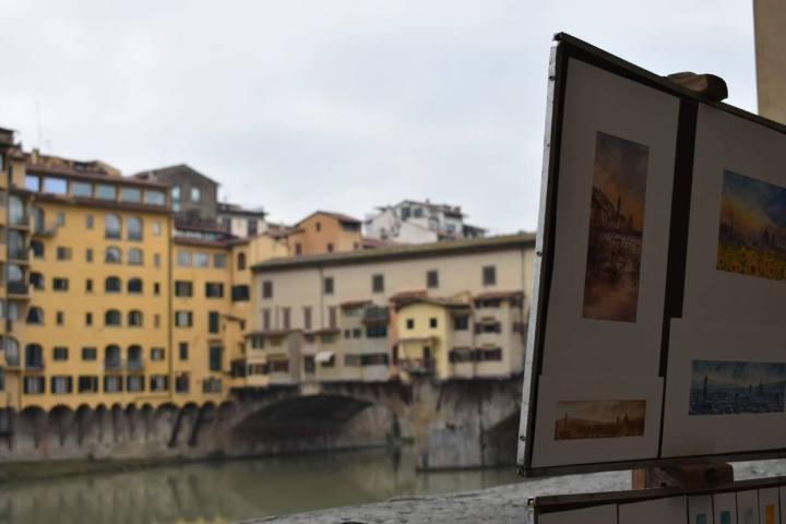 Firenze Lungarno e Ponte Vecchio