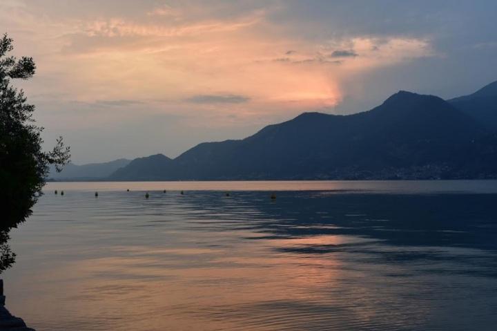 Tramonto Lago di Iseo