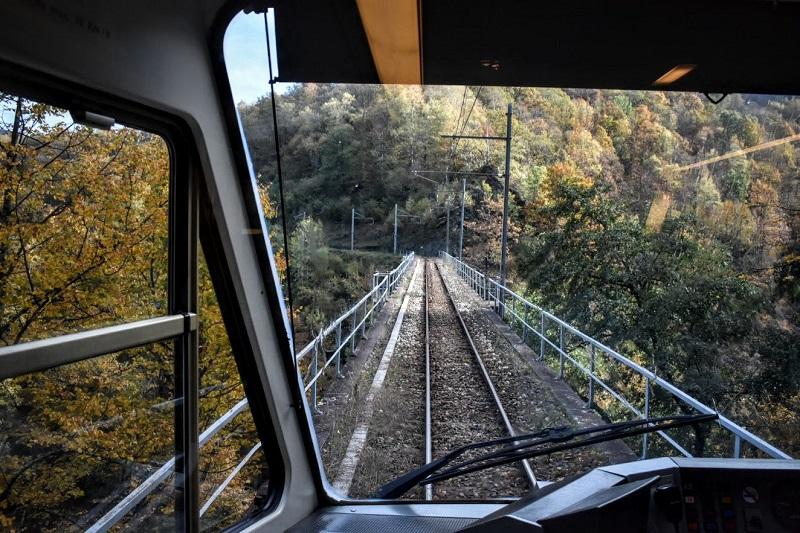 Il Treno del Foliage passa tra i boschi che si colorano dei toni autunnali