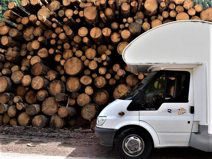 Viaggiare in camper significa anche sostenibilità e un po' di lavoro da fare