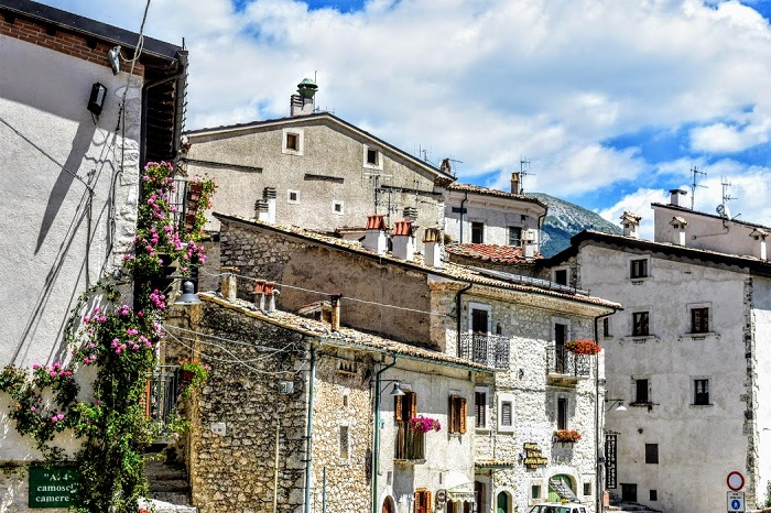 Il borgo di Civitella Alfedena