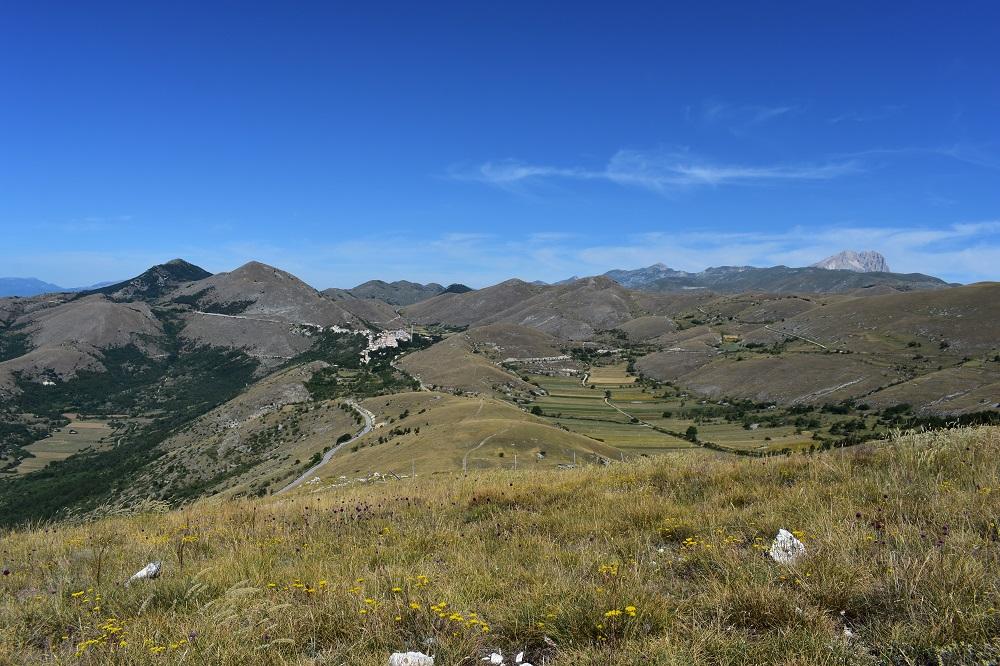 Panorama del Parco del Gran Sasso