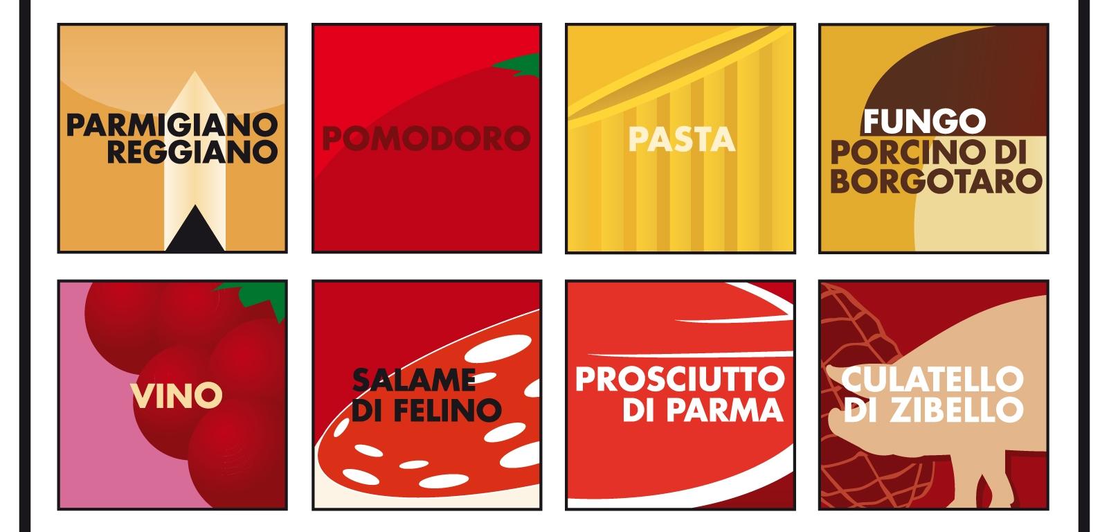 Logo dei Musei del Cibo di Parma