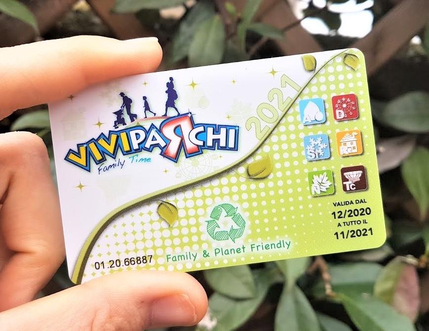 La card Viviparchi 2021 dà diritto a sconti e agevolazioni su tantissime attività per il tempo libero in famiglia